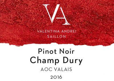Pinot Noir Champ Dury